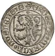 1 Schildgroschen - Friedrich II (Freiberg) – reverse