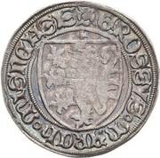 1 Schildgroschen - Friedrich II,  Friedrich IV & Sigismund – obverse