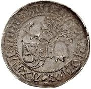1 Horngroschen - Ernst, Wilhelm III, and Albrecht (Leipzig) – obverse