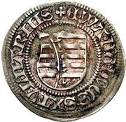 1 Spitzgroschen - Ernst, Wilhelm III, and Albrecht (Zwickau) – obverse