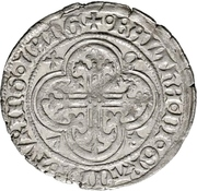 1 Fürstengroschen -  Balthasar, Landgraf von Thüringen (Sangerhausen) – obverse