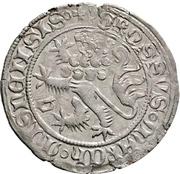 1 Fürstengroschen -  Balthasar, Landgraf von Thüringen (Sangerhausen) – reverse