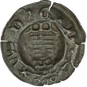 1 Pfennig - Wilhelm III von Thüringen (Hohlpfennig) – obverse