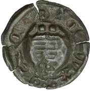 1 Pfennig - Wilhelm III von Thüringen (Hohlpfennig) – reverse