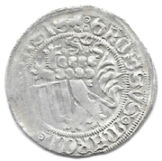 1 Groschen - Friedrich II.  and Wilhelm III. (Schwertgroschen) – reverse