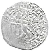 1 Groschen - Friedrich II. & Margarete – reverse