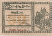 50 Heller (Melk) – obverse