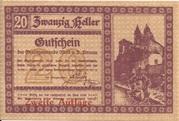 20 Heller (Melk) – obverse