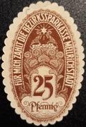 25 Pfennig (Bezirkssparkasse) – obverse