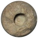 Clay Token - Elam's & Mesopotamia heartlands - (Sumerian counting system: type I numeral 36000) – obverse