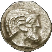 Obol (Babylonian period 586-539 BCE) -  obverse