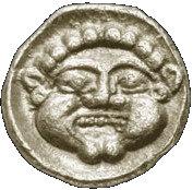 Obol (Babylonian period 586-539 BCE) – reverse
