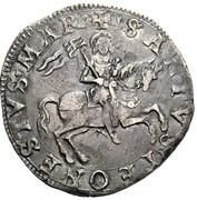 1 Testone - Ludovico II and Pierluca I – reverse