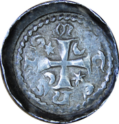 Denier - Jakob von Lothringen (Bishopric of Metz) – reverse