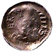 Denier - Bertram (Bishopric of Metz) – obverse