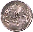 Denier - Bertram (Bishopric of Metz) – reverse