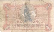 1 Franc - Ville de Metz [57] – reverse