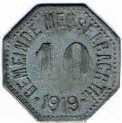10 Pfennig - Meuselbach – obverse