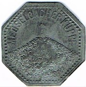 10 Pfennig - Meuselbach – reverse
