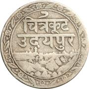 1/16 Rupee - Fatteh Singh – obverse