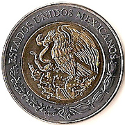 5 Pesos (Emiliano Zapata) -  obverse