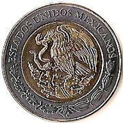 5 Pesos (Venustiano Carranza) -  obverse