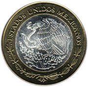 100 Pesos (Puebla) -  obverse