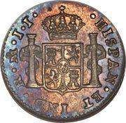 ½ Real - Fernando VII – reverse