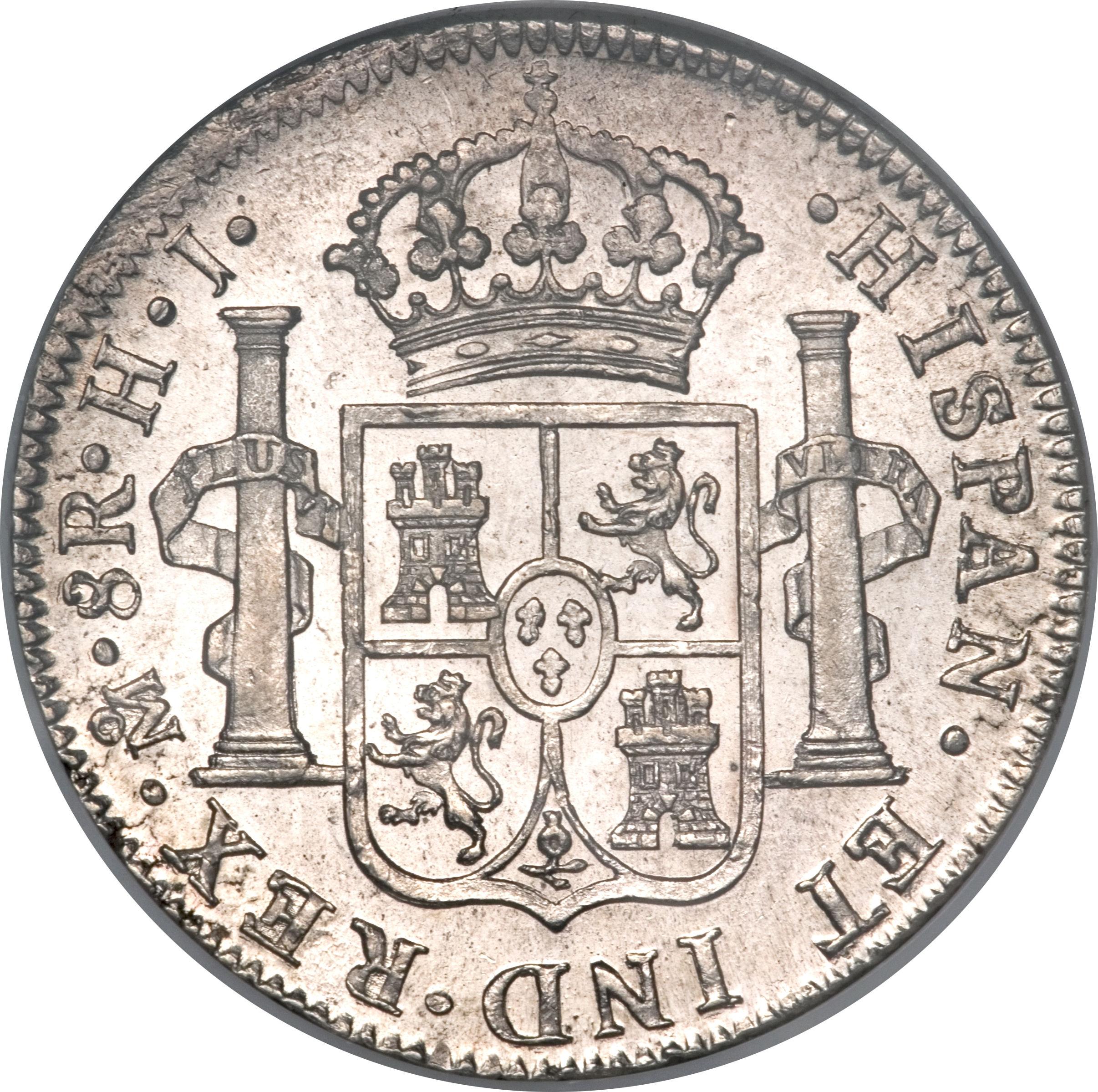 8 Reales Fernando Vii Mexico Numista