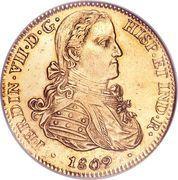 8 Escudos - Fernando VII -  obverse