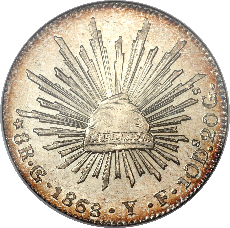 8 Reales Mexico Numista
