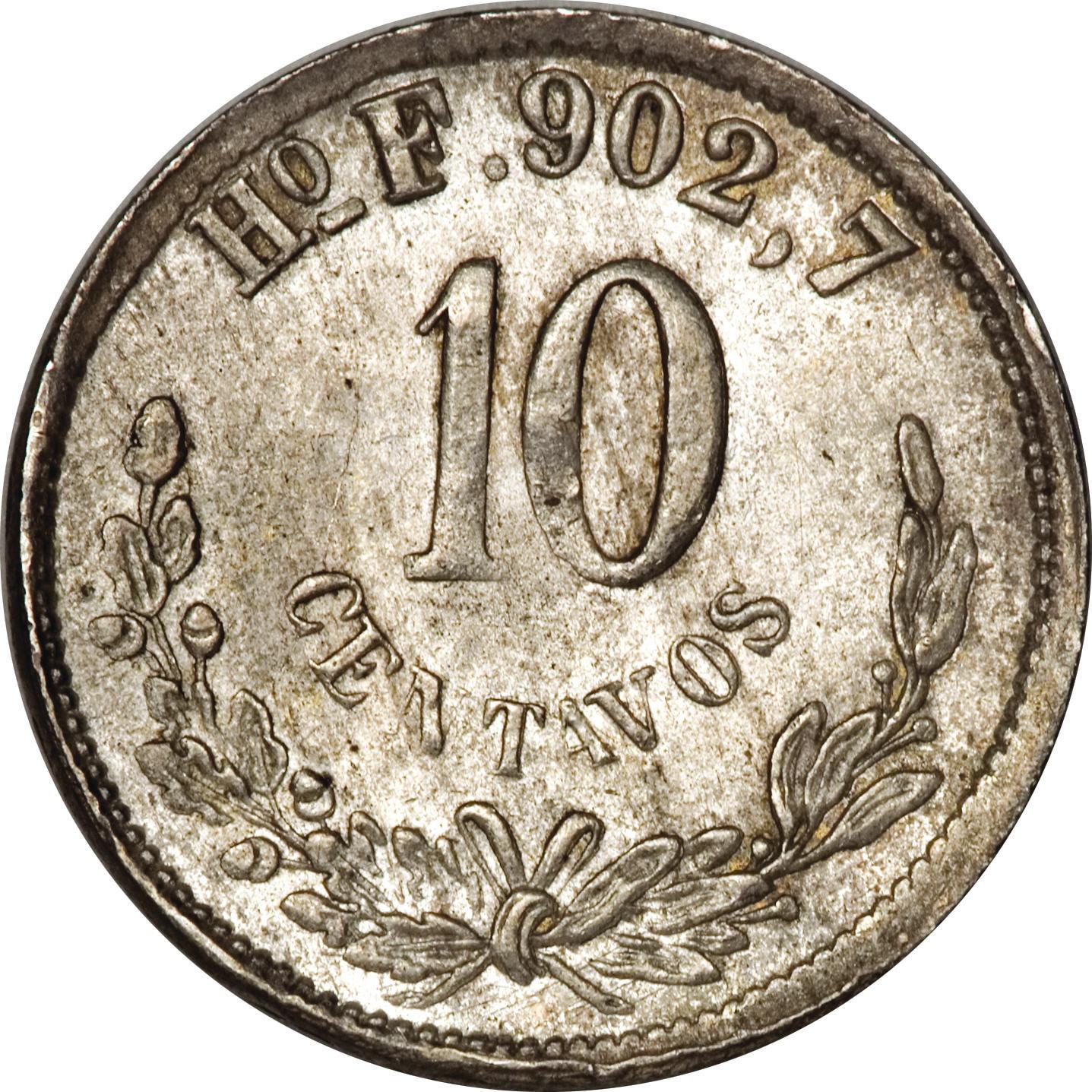 10 Centavos - Mexico – Numista
