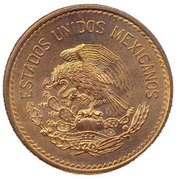 20 Centavos (Type 1 National Emblem) -  obverse