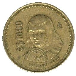 1000 Pesos Mexico Numista