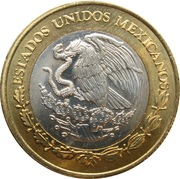 10 Pesos (Battle of Puebla) -  obverse