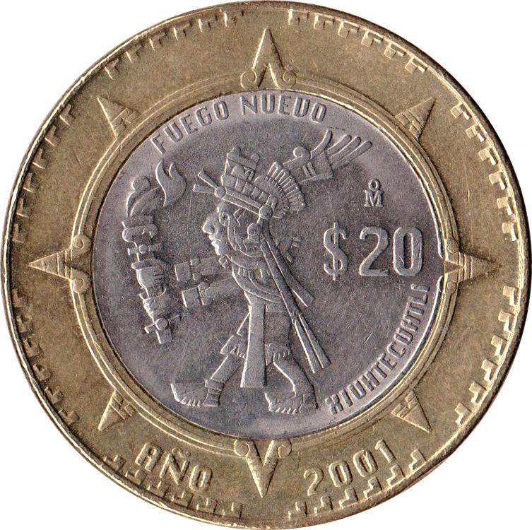 estados unidos mexicanos 2 coin value