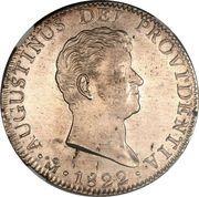 8 Reales - Agustín I -  obverse