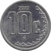 10 Centavos (small type) -  reverse