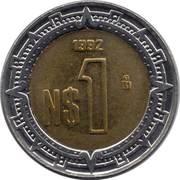 1 Nuevo Peso -  reverse