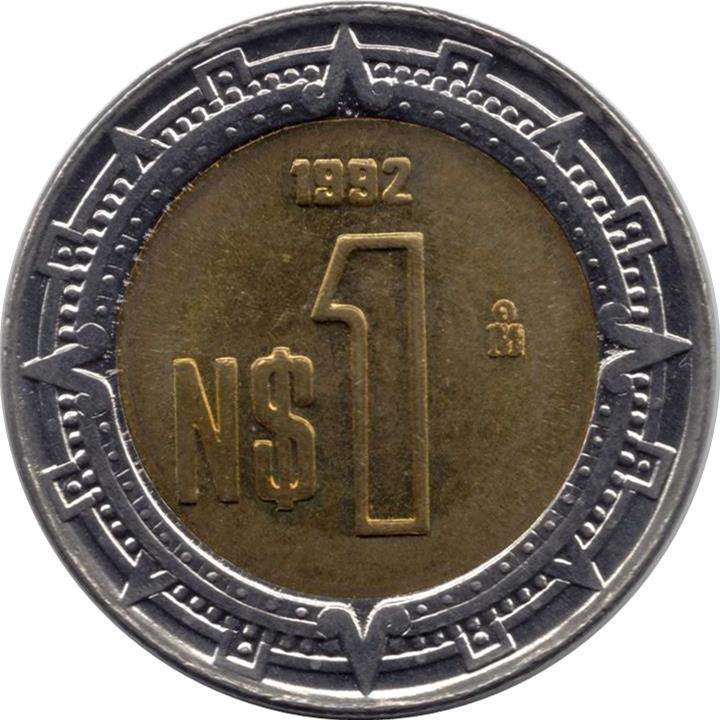 1 Nuevo Peso Mexico Numista