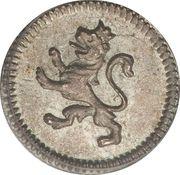 ¼ Real - Carlos IV / Fernando VII – reverse