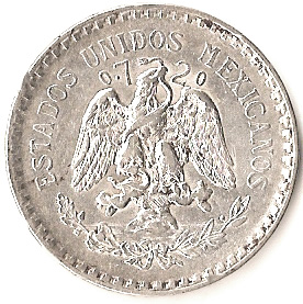 1 Peso Mexico Numista