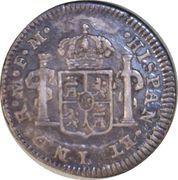 ½ Real - Carlos IV – reverse