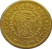 1 Escudo - Carlos III -  reverse