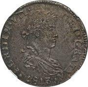 8 Reales - Fernando VII (Guadalajara - Royalist coinage) -  obverse