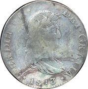 8 Reales - Fernando VII (Guanajuato - Royalist Coinage) -  obverse