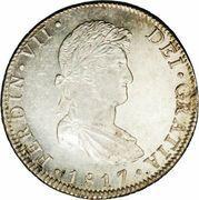 8 Reales - Fernando VII -  obverse