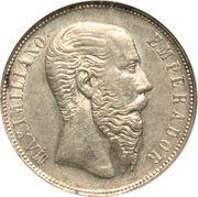 50 Centavos - Maximiliano I -  obverse