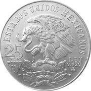 25 Pesos (Olympic Games) -  obverse