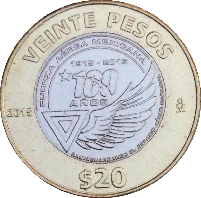 Mexico 20 Pesos 1961 P54i  aUNC